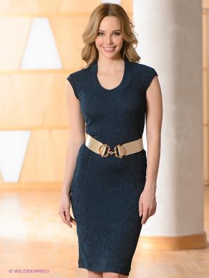 Платье Vaide. Цвет: синий