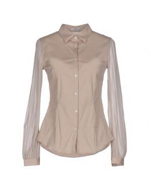 Pубашка MADREPERLA. Цвет: светло-серый