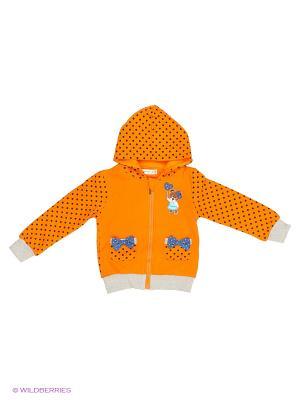 Толстовка Sago Kids i Ant Domain. Цвет: оранжевый