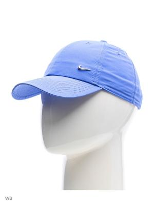 Бейсболка U NSW H86 METAL SWOOSH Nike. Цвет: лазурный, синий