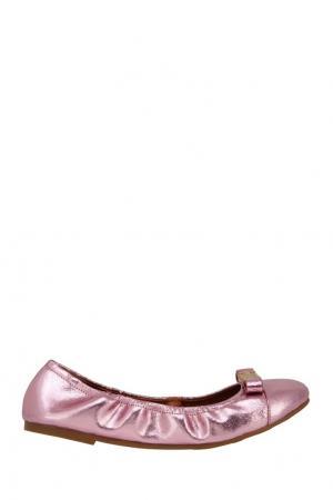 Балетки с бантом Marc by Jacobs. Цвет: розовый
