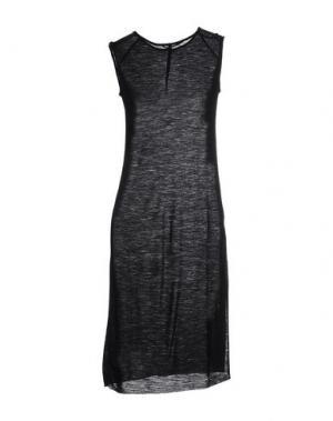 Платье до колена LUMEN ET UMBRA. Цвет: черный