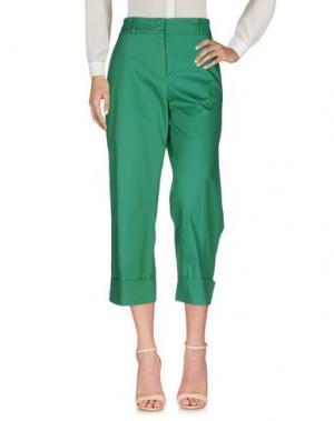 Повседневные брюки QL2 QUELLEDUE. Цвет: зеленый