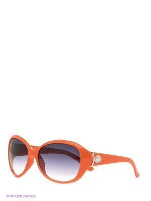 Солнцезащитные очки Vittorio Richi. Цвет: оранжевый
