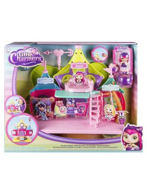 Игрушка Little Charmers Дом волшебниц с фигуркой Хэйзл. Цвет: сиреневый