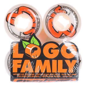 Колеса для скейтборда  Logo Family White 99A 52 mm Oj. Цвет: белый