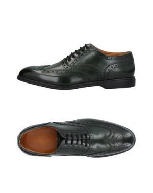 Обувь на шнурках CAMPANILE. Цвет: зеленый-милитари