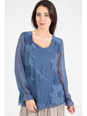 Блуза Amado Barcelona. Цвет: синий