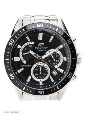 Часы EDIFICE EFR-552D-1A CASIO. Цвет: черный