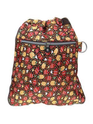 Рюкзак Infiniti. Цвет: коричневый, красный, оранжевый, желтый