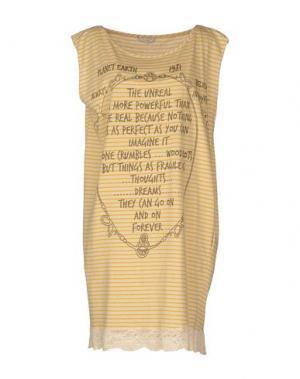 Короткое платье TUA NUA. Цвет: желтый