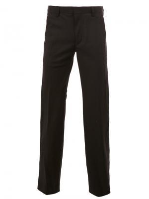 Прямые брюки Undercover. Цвет: чёрный