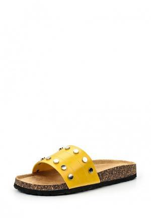 Сабо Coco Perla. Цвет: желтый