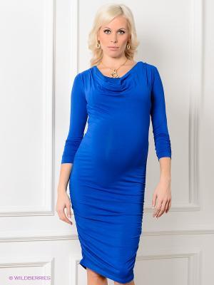 Платье Isabella Oliver. Цвет: синий