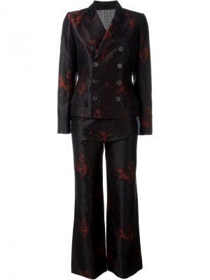 Жаккардовый костюм Jean Paul Gaultier Vintage. Цвет: чёрный