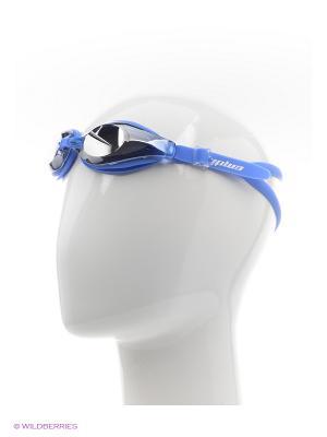 Очки для плавания EMDI. Цвет: темно-синий