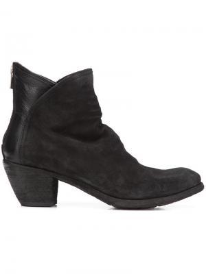 Ботинки Godard Officine Creative. Цвет: чёрный