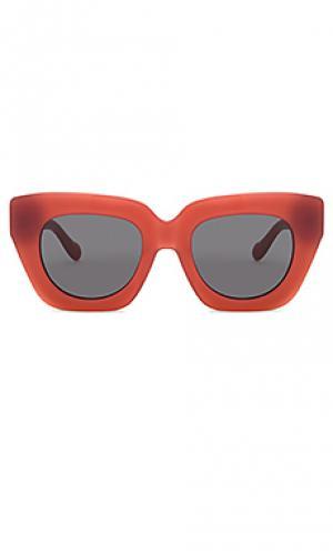 Солнцезащитные очки tokyo dream Sonix. Цвет: красный