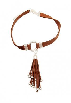 Чокер Kameo-Bis. Цвет: коричневый