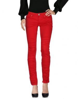 Повседневные брюки AMY GEE. Цвет: красный