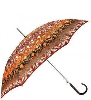 Зонт-трость с системой двойной антиветер Doppler. Цвет: коричневый