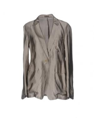 Пиджак MALÌPARMI. Цвет: светло-серый