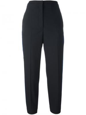 Укороченные брюки с полосками по бокам Golden Goose Deluxe Brand. Цвет: чёрный