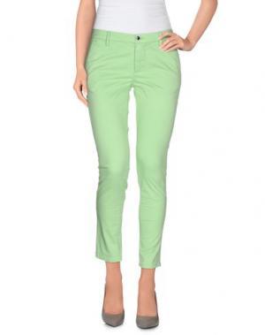 Повседневные брюки AT.P.CO. Цвет: светло-зеленый