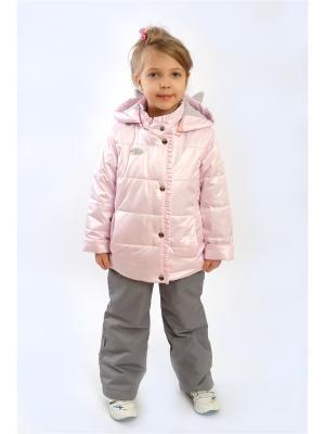 Комплект batik. Цвет: серый, розовый