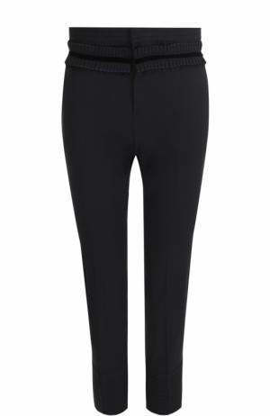 Укороченные брюки-скинни Dsquared2. Цвет: черный