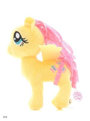Маленькие плюшевые пони My Little Pony. Цвет: желтый