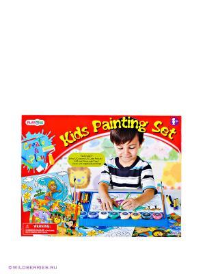 Игровой набор для раскрашивания PlayGo. Цвет: белый