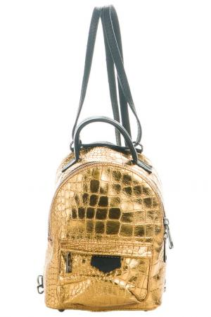 Backpack Giancarlo Bassi. Цвет: gold