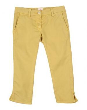 Джинсовые брюки MAURO GRIFONI KIDS. Цвет: охра