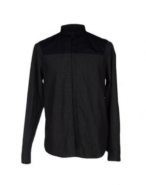Pубашка C'N'C' COSTUME NATIONAL. Цвет: стальной серый