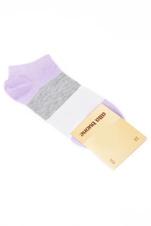 Носки ALLA BUONE. Цвет: сиреневый