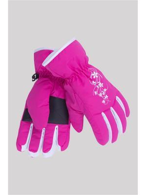 Перчатки OKWAY. Цвет: розовый