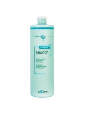 Purify Кондиционер для вьющихся волос Smooth Conditioner 1000мл. Kaaral. Цвет: светло-зеленый