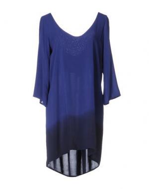 Короткое платье MONICA •LENDINEZ. Цвет: темно-фиолетовый