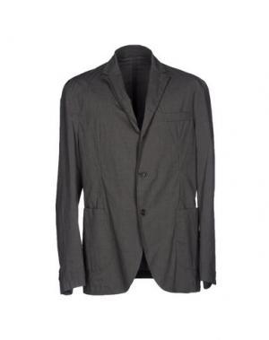 Пиджак MONTEDORO. Цвет: свинцово-серый