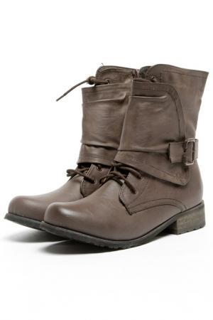 Ботинки Brucco. Цвет: коричневый