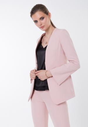Жакет Audrey Right. Цвет: розовый