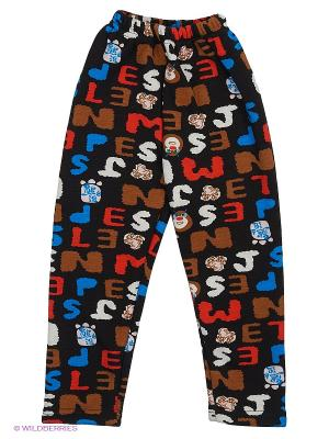 Леггинсы Happy Bear. Цвет: черный, коричневый, голубой, красный, белый