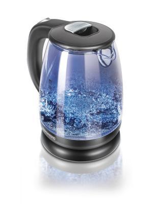 Чайник REDMOND RK-G178. Цвет: черный, прозрачный
