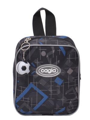 Рюкзак детский CAGIA. Цвет: черный