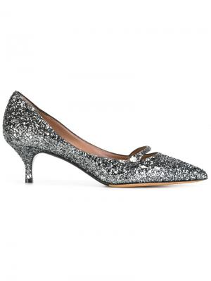 Туфли Layton Tabitha Simmons. Цвет: металлический