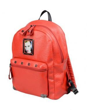 Рюкзаки и сумки на пояс PIERO GUIDI. Цвет: красный