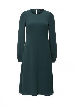 Платье Liu Jo. Цвет: зеленый