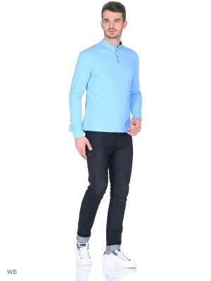 Рубашка трикотажная Пряник. Цвет: светло-голубой