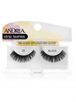 Andrea 22610 Mod Strip Lashes 26 Накладные ресницы Andrea.. Цвет: черный